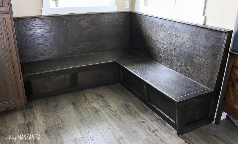 Brilliant How To Build Banquette Bench Booth Seating In Your Kitchen Andrewgaddart Wooden Chair Designs For Living Room Andrewgaddartcom