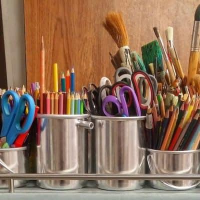 10 Great Ideas for Craft Storage & Organization