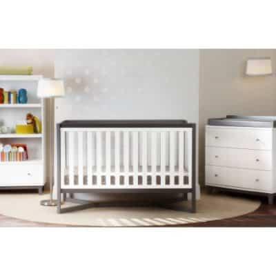 10 White Modern Farmhouse Crib Ideas
