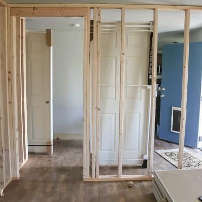 How To Build A Wall: Part 2 (Framing A Door)