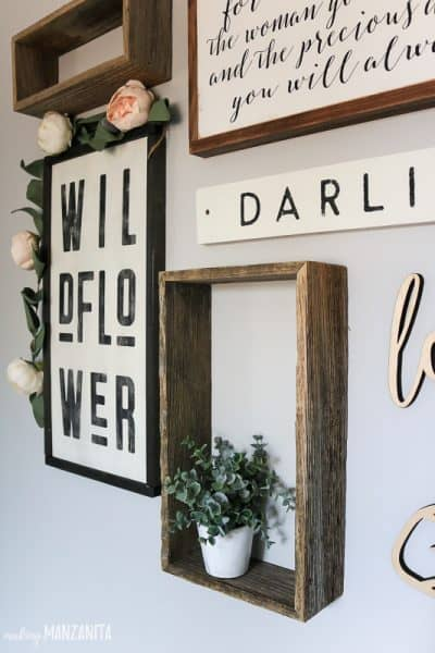 How To Plan Your Gallery Wall Layout (& Nursery Wall Art Reveal)