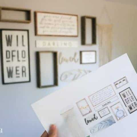 How To Plan Your Gallery Wall Layout
