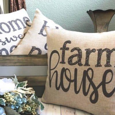 Farmhouse Throw Pillows For Your Home