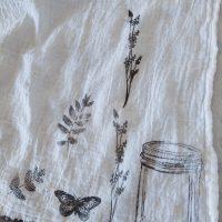 DIY Stamped Towels from Making Manzanita