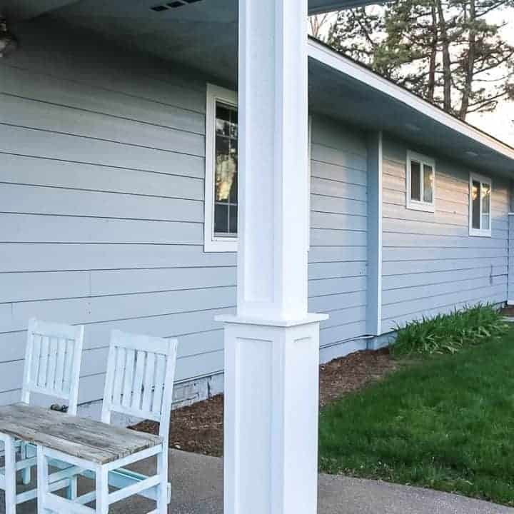 How To Update Your Skinny Porch Posts For Added Curb Appeal
