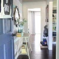Small Entryway Full of Charm and Function