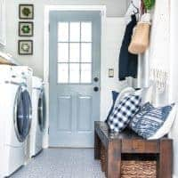 Laundry Room with Mud Room Entry Way