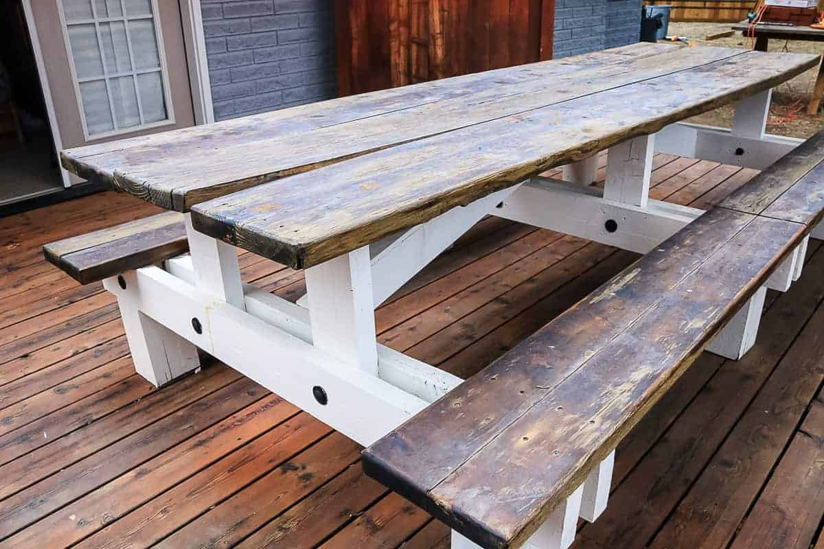 Photo of outdoor table