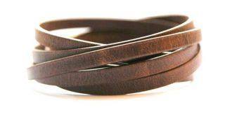 Leather Wrapped Bracelets