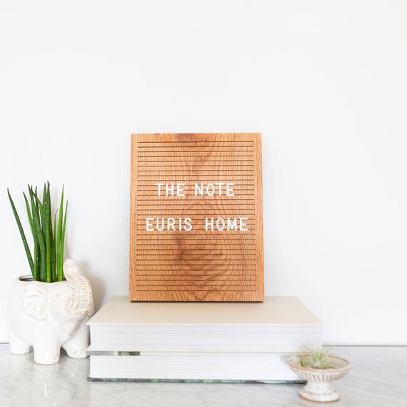 Wood Letterboard