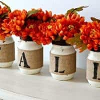 Mason Jar Fall Decor