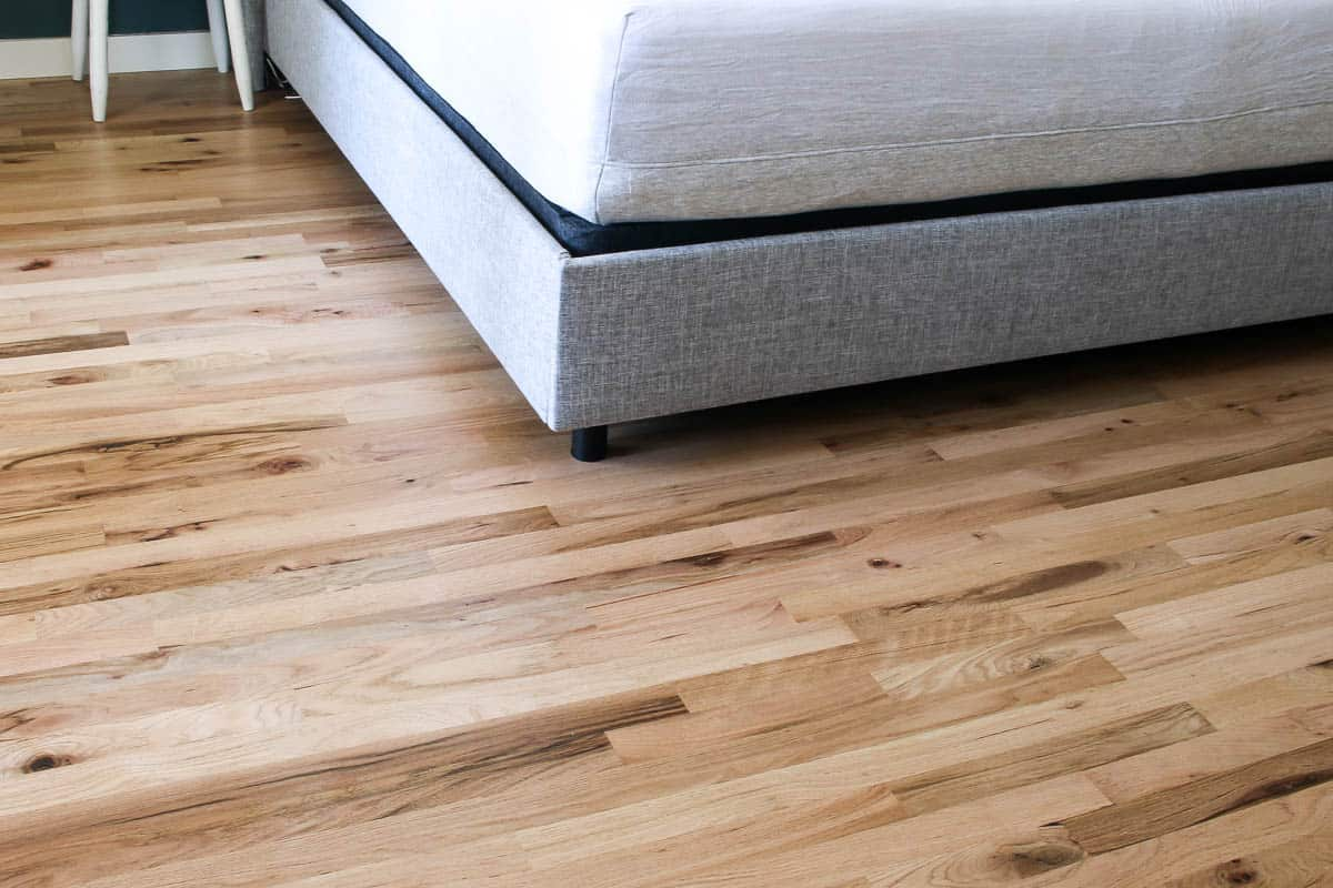 How to Install Cheap Hardwood Floors after photo
