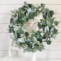 Lamb's Ear and Eucalyptus Wreath