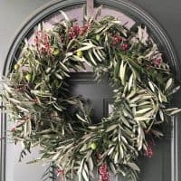 Olive & Pepperberry Wreath