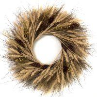 Rustic Wheat Wreath