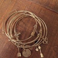 Alex & Ani Inspired Bracelets from Emerald and Oak