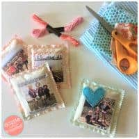 DIY Scented Photo Sachet from Dazzle While Frazzled