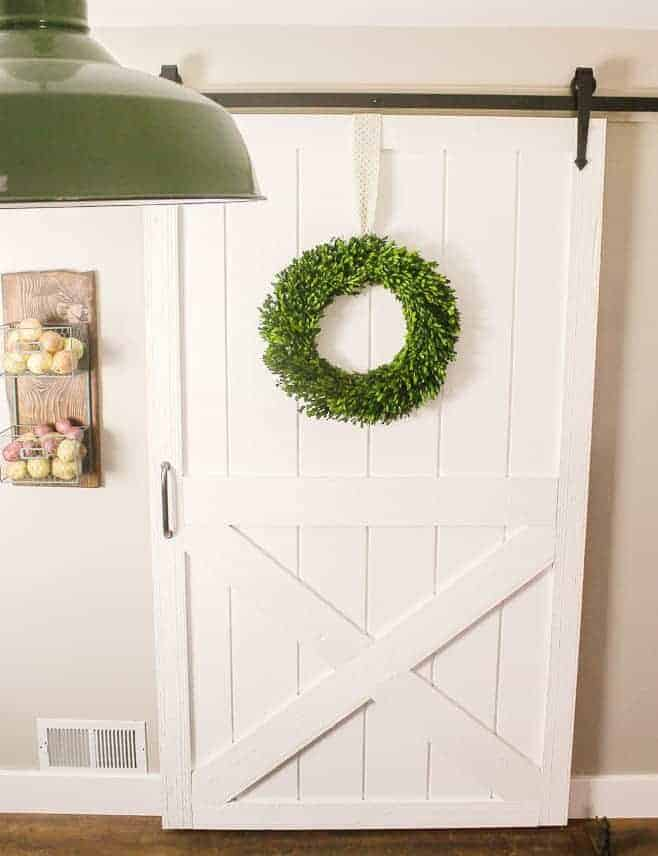 Inexpensive Barn Door