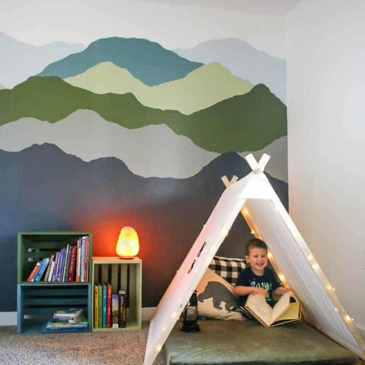 How To Make A Mountain Mural