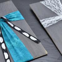Fabric Wood Cross from DIY Danielle