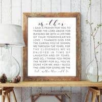 Mom Printable Quote