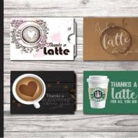 Thanks a Latte! Gift Card Holder