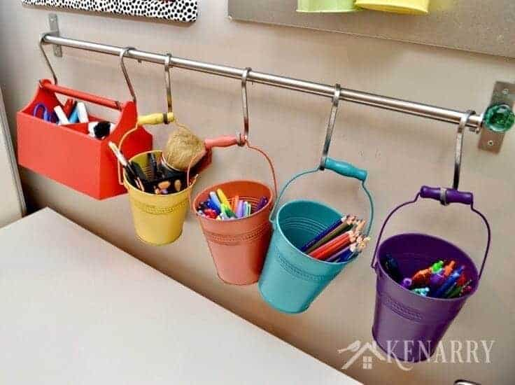 5 Easy and Creative Ideas to Tidy Up Supplies