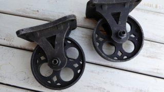 Iron Caster Wheels