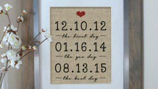 Framed Dates