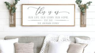 This Is Us Family Name Sign