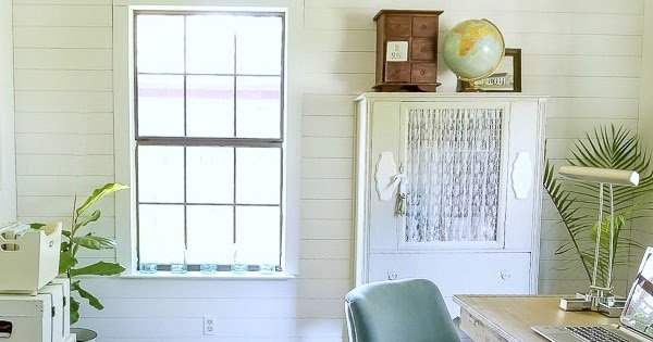 Modern Farmhouse Office Makeover