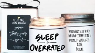 Sleep is Overrated Candle
