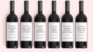 Mommy Milestone™ Wine Labels