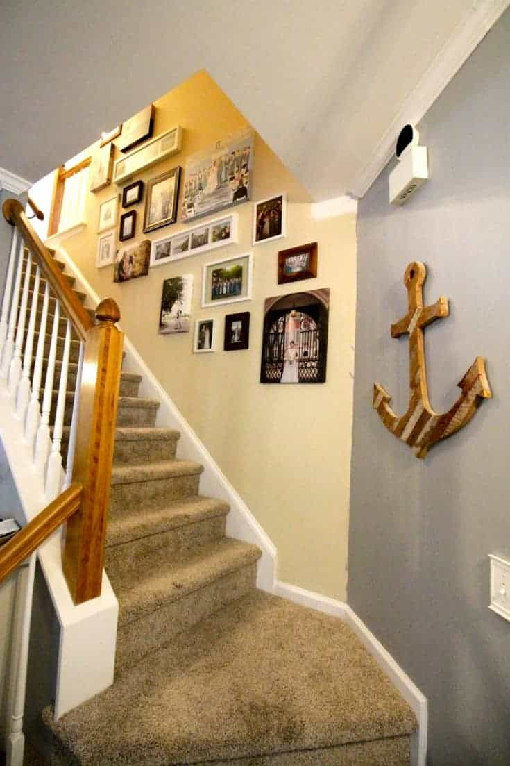 A Staircase Gallery Wall