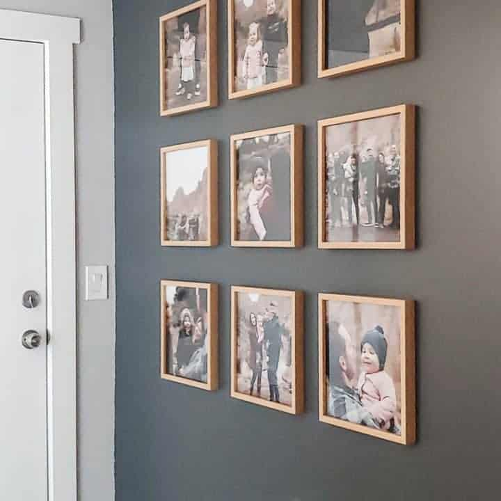 How To Hang A Grid Gallery Wall
