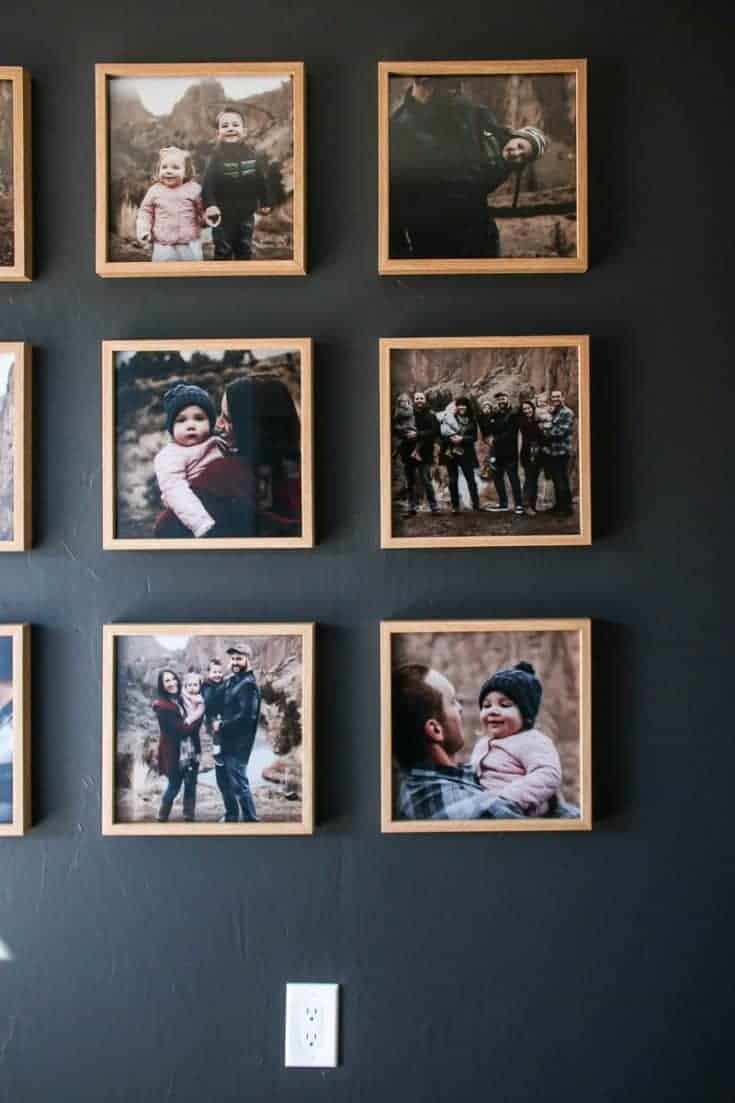 14 Creative Family Photo Wall Ideas Making Manzanita