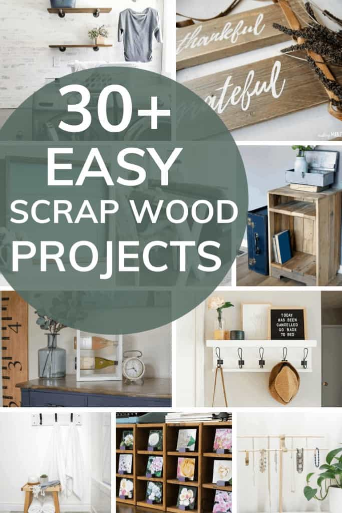 This collection of more than 30 easy scrap wood projects is a great way to get inspired to use scrap wood laying around, and create something new!