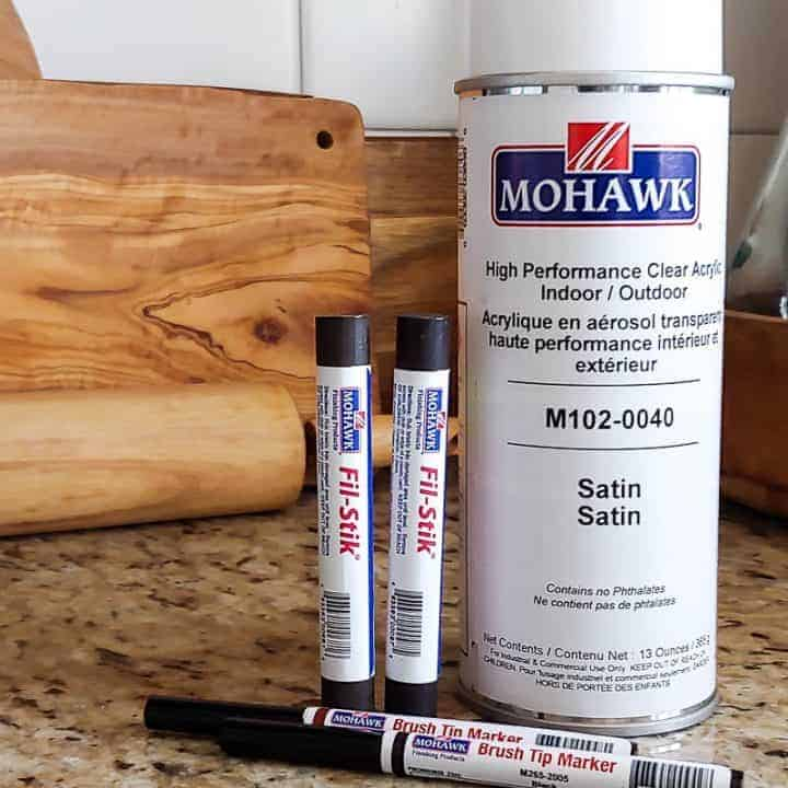 How To Fill Holes In Stained Wood