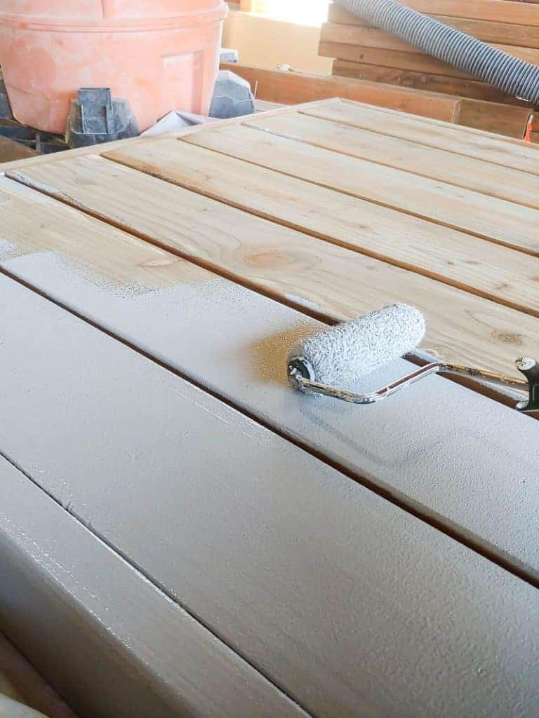If you are painting bare wood, priming is absolutely necessary! The tannins in the wood will bleed through the paint if you skip this step. Some types of wood may bleed through more than others, so just prime.