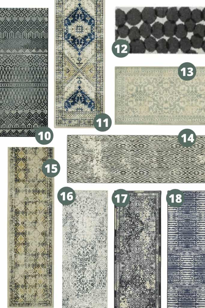 shows 8 other boho runner rugs