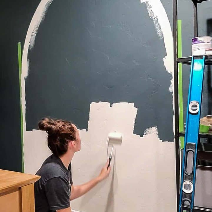 How To Paint An Arch