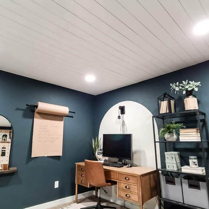 How To Install Shiplap Ceiling