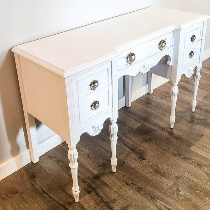 How To Chalk Paint Wood Furniture