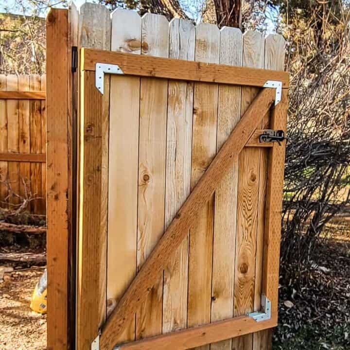 How To Make a Wooden Gate for Your Fence