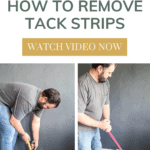 There are two easy methods to remove carpet tack strips, one with a pry bar and hammer and one using a floor scraper.