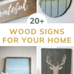 Wooden signs have been a decorating trend for years, especially if you're looking for nice farmhouse decor for your home. Wooden signs are so versatile and they are the perfect work of art that doesn't look out of place anywhere in your home!