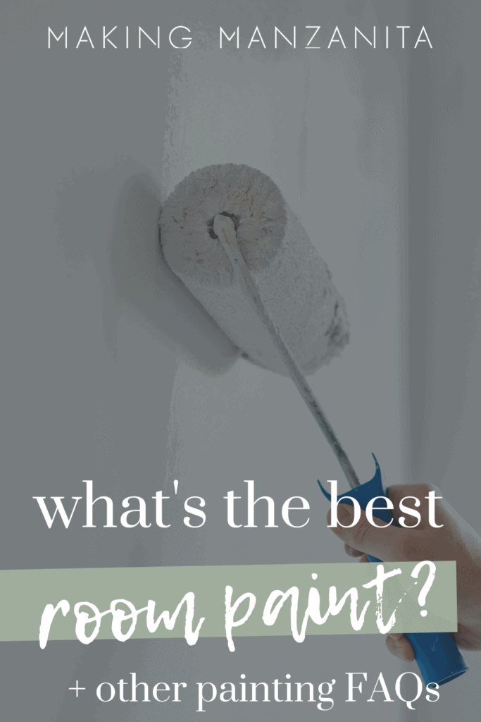 Painting a room is totally a doable DIY, even for a beginner! But if you've never painted before, you probably have some questions and hesitations, right? So we are answering some interior painting frequently asked questions here!